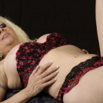 sexy bra and panties milf veronica vaughn laying down